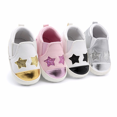 Qoo10 - Baby Shoes Boys Girls Kids First Walkers PU Leather Spring Autumn  Blin...   Baby   Maternity 5b1e8e6ae354
