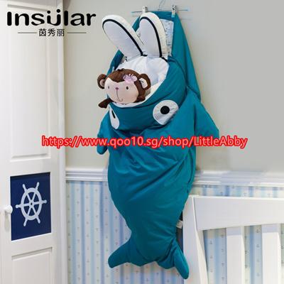 the latest 74872 627b3 ★Baby sleeping bag Cute Cartoon Shark Sleeping Bags Winter Children Sleep  Sack Warm Blanket 1-3 year