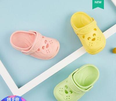 fcbc79387253 Baby Slippers Summer 1-3 Years Slip Baby Slippers Child Hole shoes Boys  Beach shoes