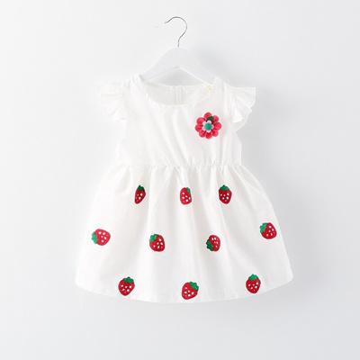 bee601af79232 Qoo10 - Baby wear summer clothes 6 months baby girls summer dresses cotton  Pri...   Kids Fashion