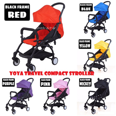 Baby Yoya Yoya Travel Stroller 2017 Upgraded Version I Compact Lightweight Cabin Stroller I 5 8kg Only