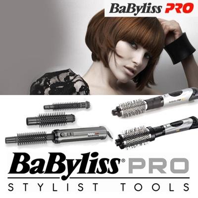 Babyliss Pro Hot Air Stylers Brush Hair Curler Dryer