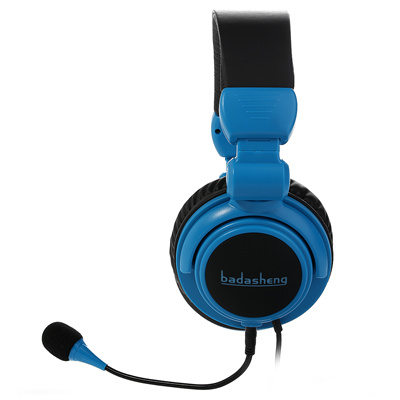 [badasheng]Badasheng BDS-933P 5-in-1 Gaming Headset for PS4 Iphone Ipad  Smartphone Tablet PC Mac and Compatible With XBox One Detachable and