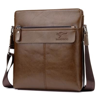 Badenroomen Leather Shoulder Bag Messenger Business Fast Delivery Good Quality Singapore Er