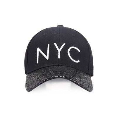 b0fc0571fb Qoo10 - Badinka 2018 New Summer Black Embroidery NYC Letter Ponytail  Glitter B...   Fashion Accessor.