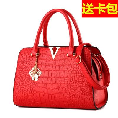 9f0ad5c39429 Qoo10 - Bag new 2017 summer bride wedding package red v handbags Crossbody  fas...   Men s Bags   Sho.