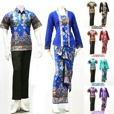 Baju Batik Couple Setelan Kutubaru Model Rok Lilit Couple Batik Couple Maxy Couple Muslim