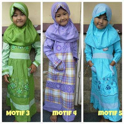 Qoo10 Baju Gamis Anak Kids Fashion