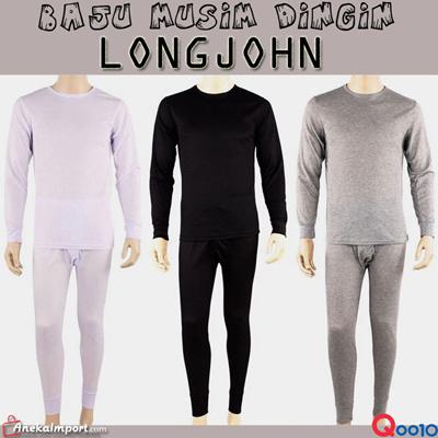 Baju Musim Dingin Longjohn Pria dan Wanita   baju   longjohn   setelan baju    import fc807d5f54