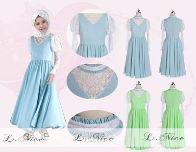 Qoo10 Baju Muslim Anak Busana Gamis Dress Kemeja Kaos