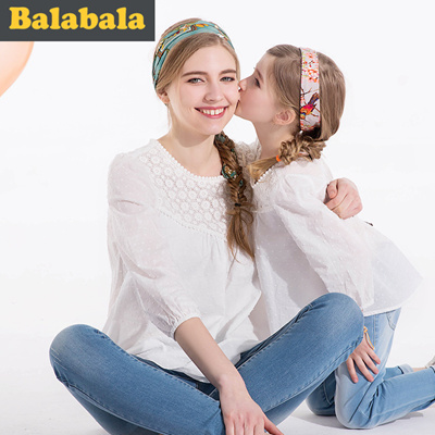 2438c023841b Qoo10 - Balla Balla baby clothes girls long sleeve shirts with parent-child  mo...   Kids Fashion