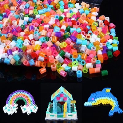 BalleenShiny 1000pcs/bag 2 6mm Mini Hama Beads Perler Beads Craft Pegboard  Activity Fuse Beads
