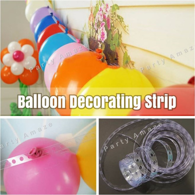 Balloon Decorating Strip For Easy Diy Balloon Garlands Arches Streamers For Party Decor