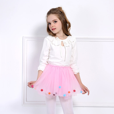 aa5e6f962fa4 Qoo10 - Balls Girls Tutu Skirt Soft Mesh Lace Children Skirts Ins Hot Style  Ba...   Baby   Maternity