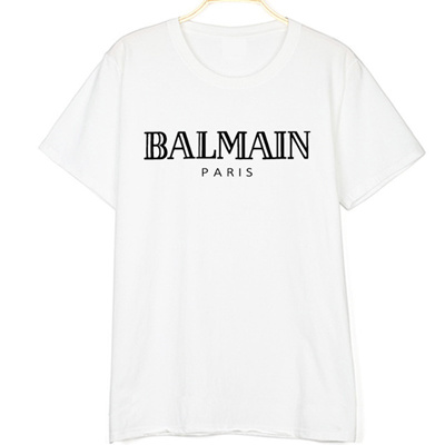 5be61f56248 Qoo10 - Balmain Paris letter printed t shirt women 2018 new fashion short  slee...   Kids Fashion