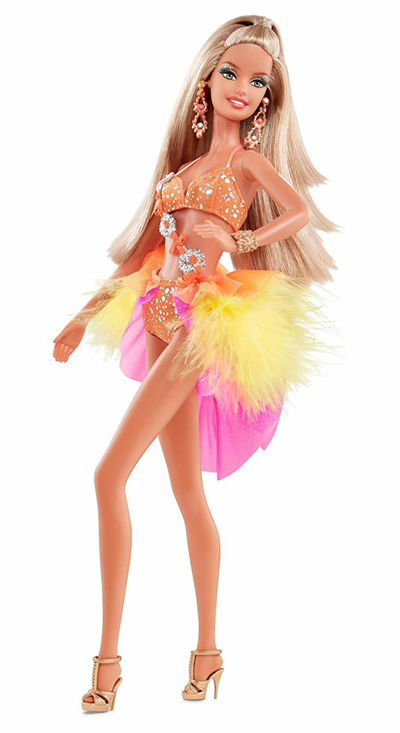 Qoo10 - Barbie Collector Dancing with The Stars Samba Doll   Toys 2d2a46cb30