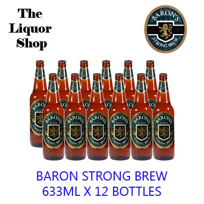 Qoo10 Baron Strong Brew Drinks Sweets