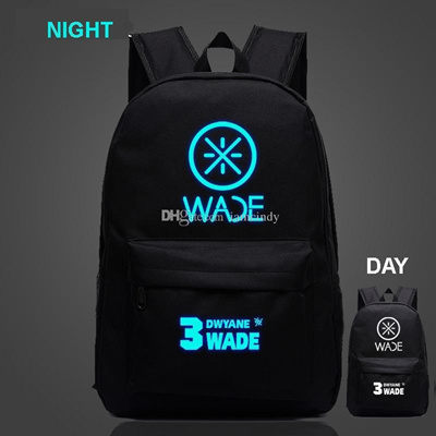 Qoo10 - Basketball all stars Hot Wade backpacks kids night-luminous bookbag  me...   Men s Bags   Sho. cfb571cd43fa3