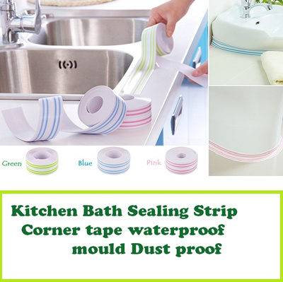 Qoo10 sink sealant tape kitchen dining for Best sealant for bathroom sink