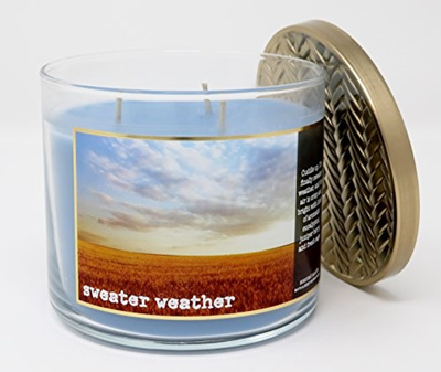 Qoo10 Bath Body Works Home Sweater Weather Scented 3 Wick 145