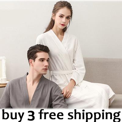 558c2f9cc9 Bathrobe Korean style cartoon pajamas cotton pajamas short Sleeve pajamas