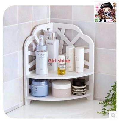 Bathroom Countertops Bedroom Floor Corner Shelf Kitchen Storage Rack Desktop Multilay