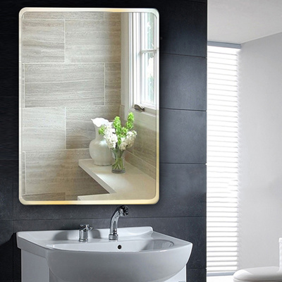 Bathroom Mirrors.Qoo10 Bathroom Mirror Makeup Mirror Punch Free Bathroom Mirrors