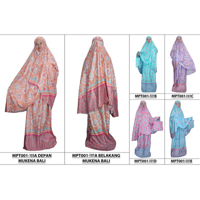 New Collection Mukena Bali   Batik Mukena   Mukena Adult Rayon Material  (MPT001-101 66ecca5d0b