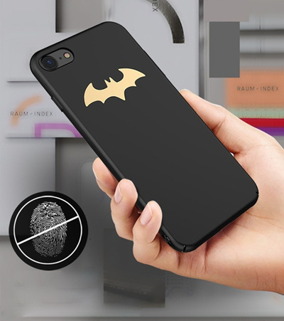 innovative design 5c3a4 f7f75 Batman Case For iPhone 6 6S Plus 7 Plus Cover Luxury Slim PC Phone Case For  iPhone X 8 8 Plus Capa M
