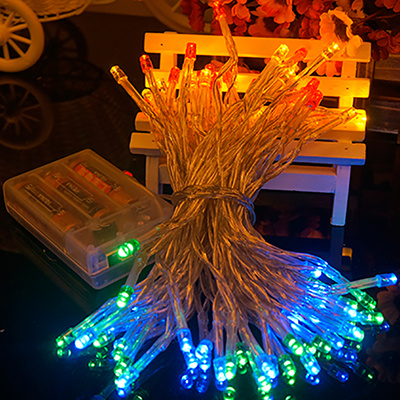 String Lights Next : Qoo10 - Battery String Lights 3pcs AA Battery Operated Lights 10M 80LED/5M 50L... : Furniture ...