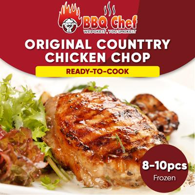BBQ CHEF[BBQCHEF] Original Country Chicken Chop 乡椿鸡扒 / 8-10PCS / Ready to  cook