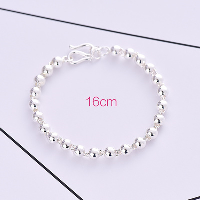 six bead beadworks silver birthday sisters bracelet initial birthstone tiffany childrens gift bracelets baby little girls beads newborn heart charm sterling first julia inspired