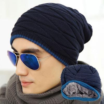 ec5e4d97ff5 Qoo10 - Beanies Knitted Hat Men s Winter Warm Hats For Women Men Caps Ski  Fash...   Fashion Accessor.