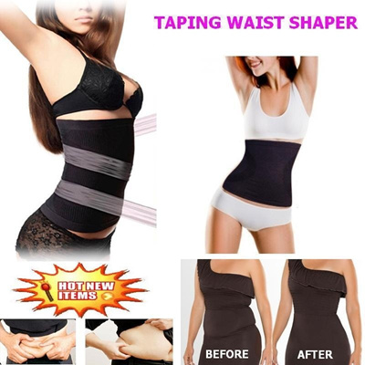 29047d546d0ec Hot-Selling in Japan Amazing Taping Waist Shaper  Instant Slimming Waist  Shaper  Flat