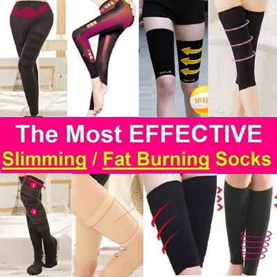 c0582d4cd9 Slimming Fat Burning Socks   Legging - Thigh   Calf Shaper   Slimmer -  ELEPHANT LEGS