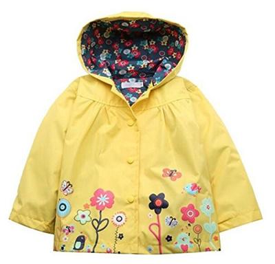 33764ea4c Qoo10 - (BELLE-LILI) BELLE-LILI Baby Girl Waterproof Hooded Raincoat ...