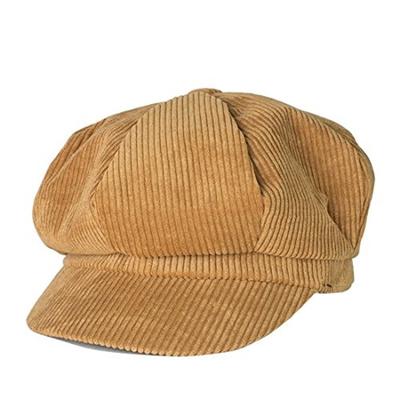aebfb633368 Qoo10 - Belsen Unisex Cotton Corduroy Newsboy Cap Gatsby Ivy Hat (Camel)   Men s  Bags   Shoes