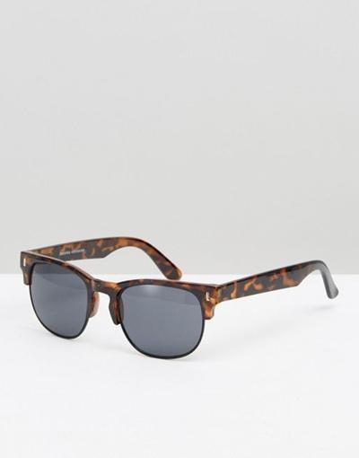 a0840e7ce8 Qoo10 - Bershka Retro Sunglasses In Tort   Fashion Accessories