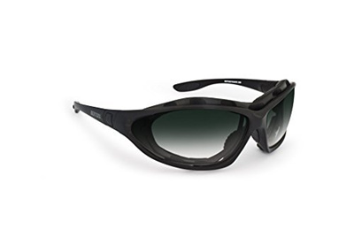 d3bfbad006e1 (Bertoni) Motorcycle Goggles - Interchangeable Temples and Strap - Gradient  lens by Bertoni iWear