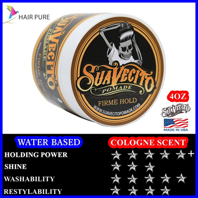 BEST DEAL THE ONLY AUTHENTIC SUAVECITO FIRME HOLD POMADE☆MANIGTO CHARCOAL CLAY☆MANIGTO SUMMER