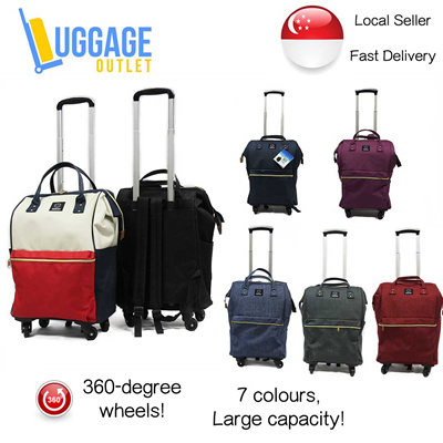 Qoo10 ★best For 2017 Long Weekends★ Large Trolley Backpack Carry On Travel C Bag Amp Wallet