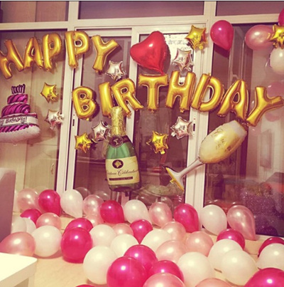 Qoo10 Happy Birthday Party Furniture Deco