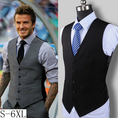 how to wear a vest male