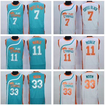 4d004148456 Qoo10 - Best Quality 33 Jackie Moon Jersey Men Shirt Flint Tropics Semi Pro  Mo...   Sports Equipment