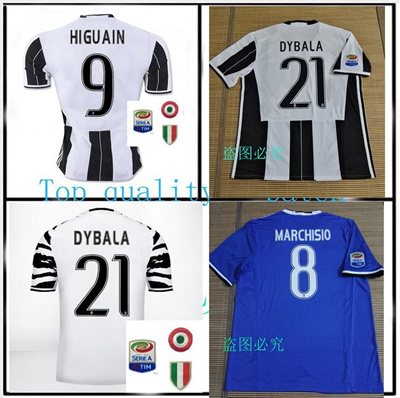 a8f14349cbc Qoo10 - Best quality Send Free 2016 2017 Juventus jerseys 16 17 MARCHISIO  DYBA...   Sports Equipment