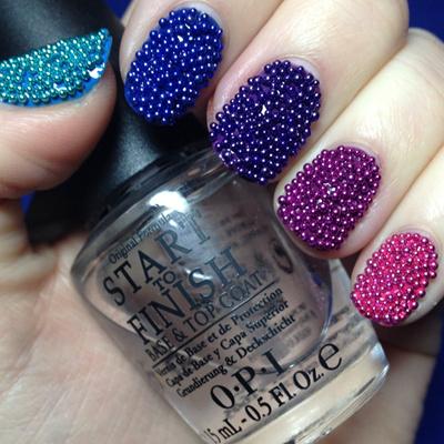 Qoo10 Caviar Beads Nail Ar Bath Body