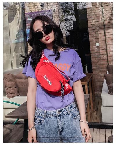 BEST SELLER - Tas Pinggang Pria Wanita Import Waist Bag Body Bag - READY  STOCK 66f1bb85de