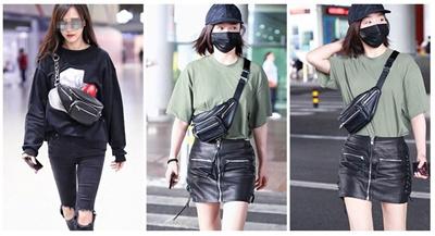 BEST SELLER - Tas Pinggang Wanita Import Banyak Resleting   Sling Waist Bag  - BEST SELLER eba4347262