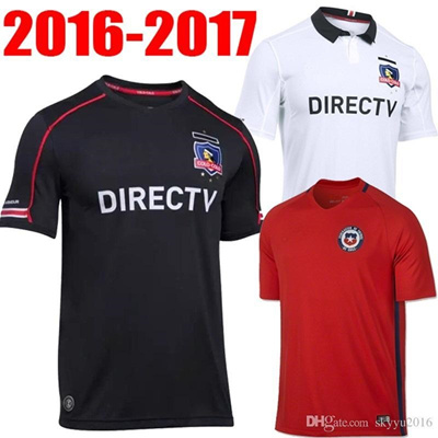 d4e7bbd7f Qoo10 - best thai quality 2016 colo colo Soccer Jerseys 16 17 Chile jersey  Uni...   Sports Equipment