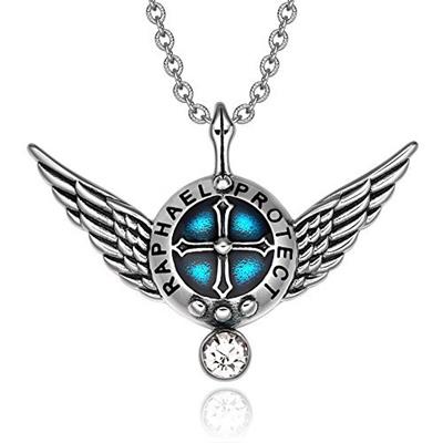 Qoo10 Bestamulets Archangel Raphael Angel Wings Protection